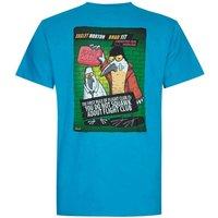Weird Fish Flight Club Artist T-Shirt Blue Jay Size M