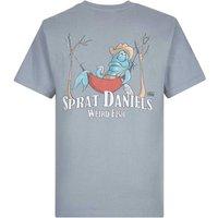 Weird Fish Sprat Daniels Artist T-Shirt Grey Blue Size 5XL