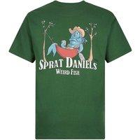Weird Fish Sprat Daniels Artist T-Shirt Olive Size XS