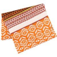 Weird Fish Suna Jacquard Snood Pumpkin Size ONE