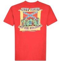 Weird Fish Lynrd Finyrd Artist T-Shirt Dark Red Size 3XL