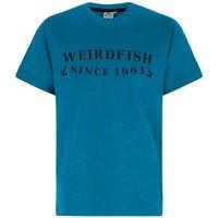 Weird Fish Anchor Graphic Print T-Shirt Blue Jay Size 2XL
