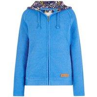 Weird Fish Tilly Light Macaroni Hooded Sweatshirt Aster Blue Size 16
