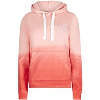 Weird Fish Danni Dip Dyed Hoodie Vibrant Coral Size 18