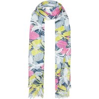 Alverton All Over Print Scarf Petrol Blue