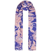 Alverton All Over Print Scarf Clematis Blue