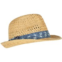 Weird Fish Diwali Straw Trilby Hat Natural Size ONE