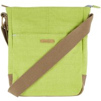 Weird Fish Betti Cotton Cross Body Bag Lime Size ONE