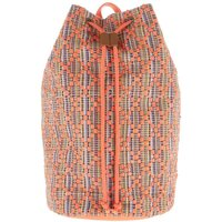 Weird Fish Arabella Jacquard Duffle Backpack Dusty Orange Size ONE
