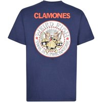 Weird Fish Clamones Artist T-Shirt Maritime Blue Size 4XL