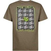 Weird Fish Just Different Artist T-Shirt Bark Size 3XL