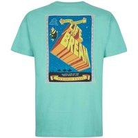 Weird Fish Life Of Bream Artist T-Shirt Menthol Size 4XL