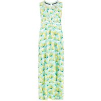 Weird Fish Cloud Printed Maxi Dress Cream Size 10