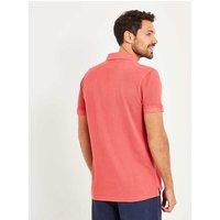 Weird Fish Edwin Garment Dyed Polo Shirt Baked Apple Size 2XL