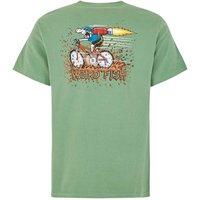 Weird Fish Rocket Bike Artist T-Shirt Ivy Green Size XL