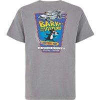Weird Fish Bark Future Artist T-Shirt Grey Size XL