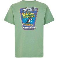 Weird Fish Bark Future Artist T-Shirt Ivy Green Size 2XL