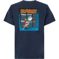 Weird Fish AC Dacey Artist T-Shirt Black Iris Size XL