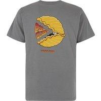 Weird Fish Pac Clam Artist T-Shirt Grey Size 4XL