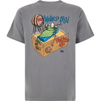 Weird Fish Tanked Up Artist T-Shirt Grey Size 4XL