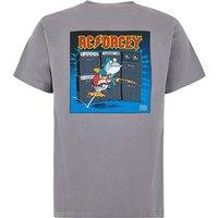 Weird Fish AC Dacey Artist T-Shirt Grey Size 3XL