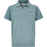 Weird Fish Tyrie Branded Polo Dusty Teal Marl Size S