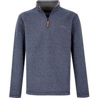 Weird Fish Newark 1/4 Zip Grid Fleece Sweatshirt Maritime Blue Size 5XL
