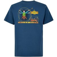 Weird Fish Dogtruvian Artist T-Shirt Ensign Blue Size 5XL