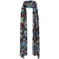 Alverton Patterned Scarf Scandi Blue