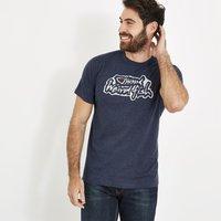 Weird Fish Evolution Branded T-Shirt Black Iris Marl Size XL