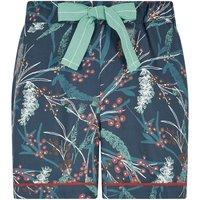 Bedford Printed Loungewear Short Deep Sea Blue