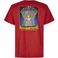 Weird Fish Game Of Bones Artist T-Shirt Dark Red Size XL