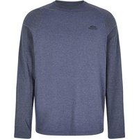 Image of Weird Fish Askill Long Sleeve Jersey T-Shirt Blue Indigo Marl Size 2XL