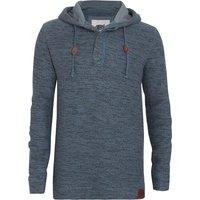 Weird Fish Mendoza Jarse Hooded Sweatshirt Blue Mirage Size 2XL
