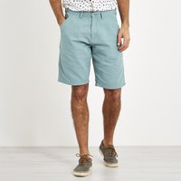 Weird Fish Ballina Relaxed Casual Shorts Mineral Blue Size 40