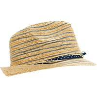 Weird Fish Mamon Straw Panama Hat Natural Size ONE