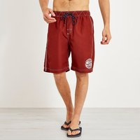 Weird Fish Cork Branded Board Shorts Retro Red Size 36