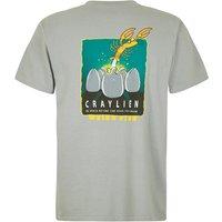 Weird Fish Craylien Artist T-Shirt Gunmetal Size 3XL