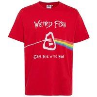 Weird Fish Carp Side Of The Moon Artist T-Shirt Mars Red Size M