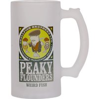 Weird Fish Peaky Flounders Pint Tankard Grey Size ONE