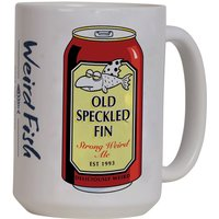 Weird Fish Old Speckled Fin Mega Mug White Size ONE