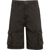 Weird Fish Uruco Cargo Short Dark Gull Grey Size 5-6