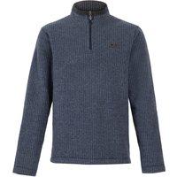 Weird Fish Newark 1/4 Zip Grid Fleece Sweatshirt Navy Size 3XL
