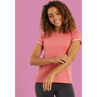 Weird Fish Trinity Cotton Short Sleeve T-Shirt Bubblegum Size 16