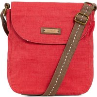 Weird Fish Loula Plain Cross Body Bag Radical Red Size ONE