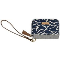 Weird Fish Esher Patterned Coin Purse Dark Navy Size ONE