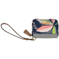 Weird Fish Esher Patterned Coin Purse Navy Size ONE