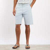 Weird Fish Ballina Relaxed Casual Shorts Ice Blue Size 40