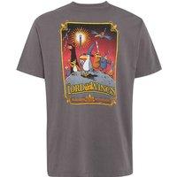 Weird Fish RSPB Lord of the Wings Artist T-Shirt Dark Gull Grey Size 2XL