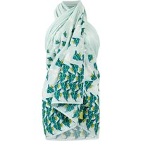 Weird Fish Mull Printed Beach Sarong Spearmint Size ONE